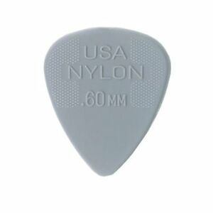 Jim-Dunlop-44P60-60-Light-Gray-Standard-Nylon-Picks-12Pk