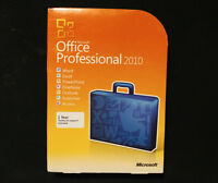 Microsoft Office Professional 2010 Retail Box 100% Genuine