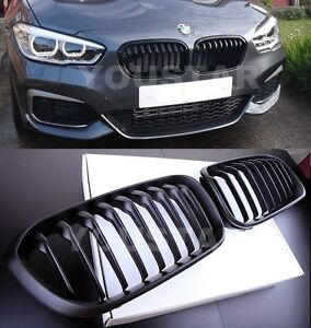 BMW F20 F21 LCI facelift 15 performance gloss black kidney front grille grilles