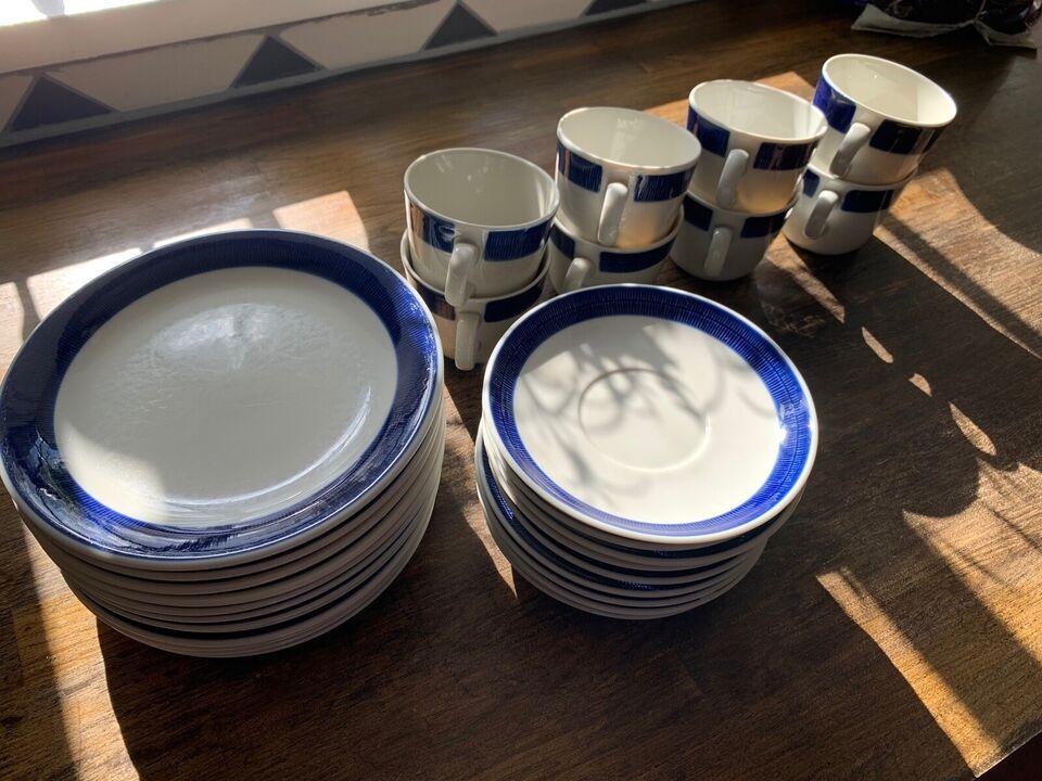 Porcelæn, Kagetallerkner og kaffekopper, Koka fra