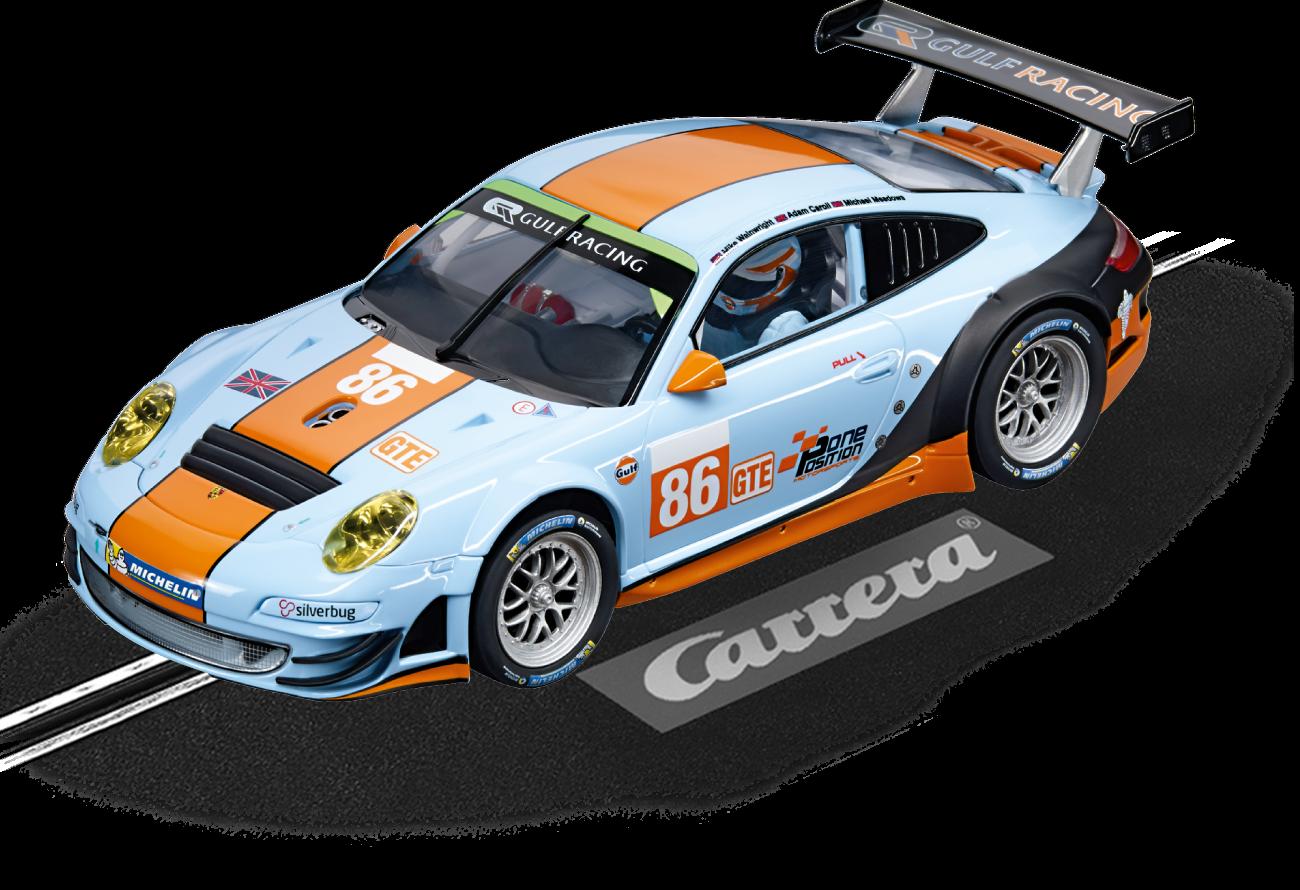TOP Selten   Carrera Digital 124  -  Porsche 911 GT3 RSR   Gulf    wie  23810