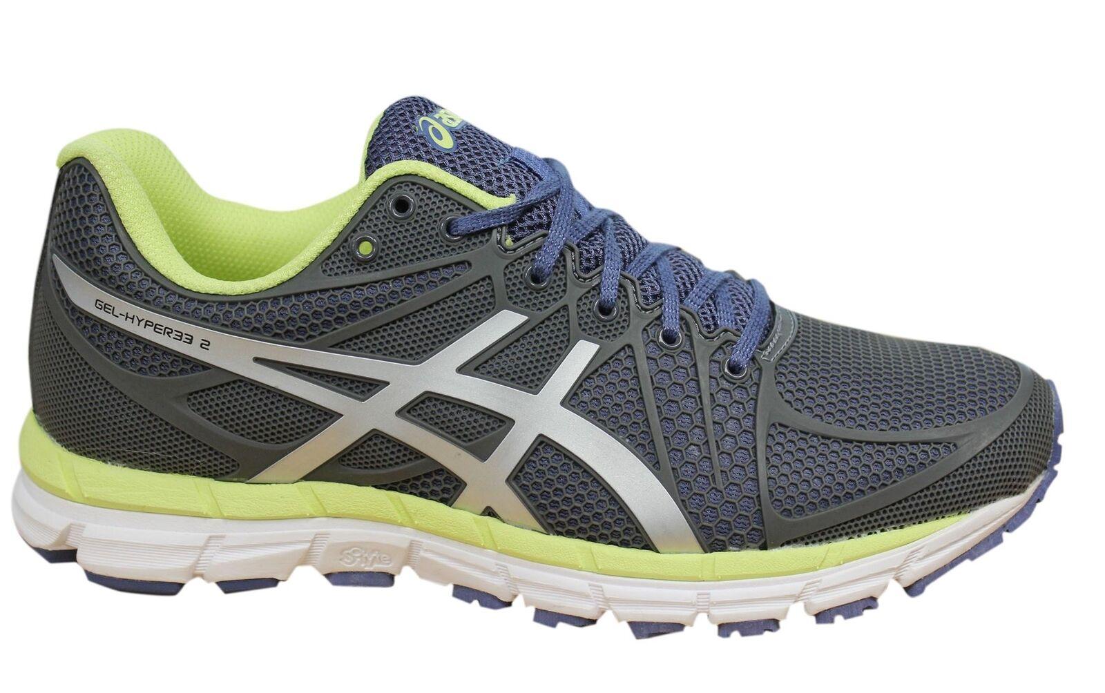 Asics Gel-Hyper33 2 Lace Up grau Synthetic damen Trainers T368N 7991 D10  | Moderne Technologie