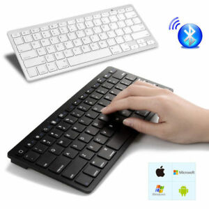 New Slim Wireless Bluetooth 3.0 Keyboard For iMac iPad Android Phone Tablet PC