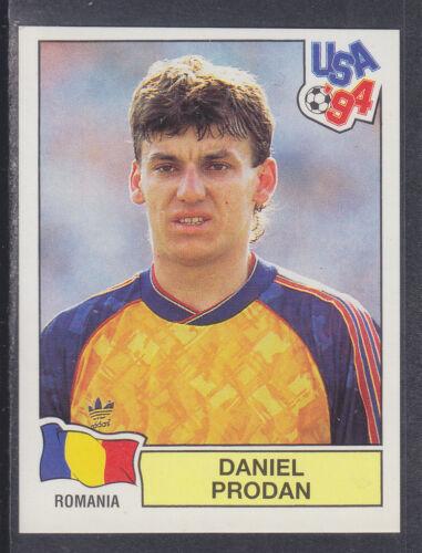 Panini-Usa 94 World Cup verde posterior # 76 Daniel Prodan-Rumania