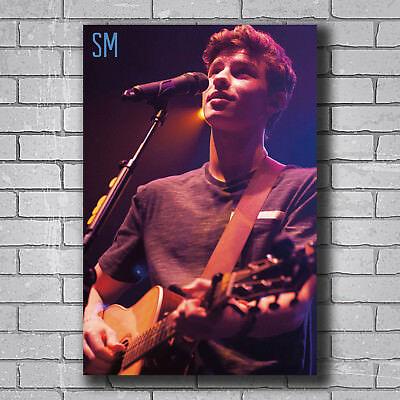 H968 Shawn Mendes Rock Hip Pop Music Star Singer Hot Poster Art 20x30 24x36IN