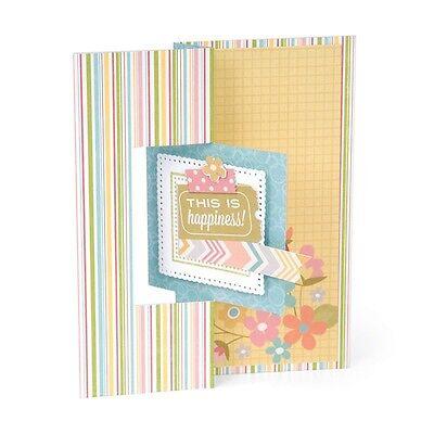 Sizzix Framelits Dies - Card, Square Flip-Its #2 - 12 Dies #559175