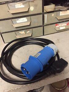 RARITAN | PXI-IE16AC19-3M C20 TO 16A COMMANDO PLUG ADAPTOR CABLE, 3M LENGTH