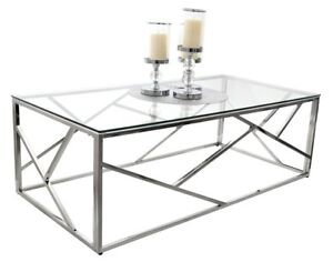 TABLE-BASSE-GLAMOUR-VERRE-CT020-CT021A-ACIER-CHROME-TABLE-DESIGN-MODERNE-TUTUMI