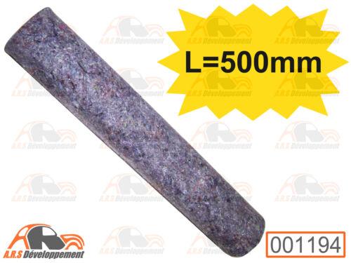 GAINE pour MANCHON L=500mm chauffage de Citroen 2CV DYANE anciens modèles 1194
