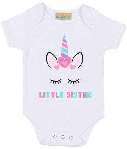 Reveal Party Girls Toddlers Unicorn Big /& Little Sister T-Shirts /& Bodysuits