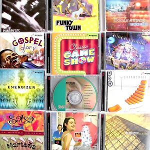 Stock-Music-Variety-Themes-12-CD-Lot-Network-253-276-Production-Library-2003-06
