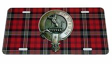 SCOTTISH CLAN MACPHERSON LICENSE PLATE 6 X 12 INCHES NEW ALUMINUM SCOTLAND