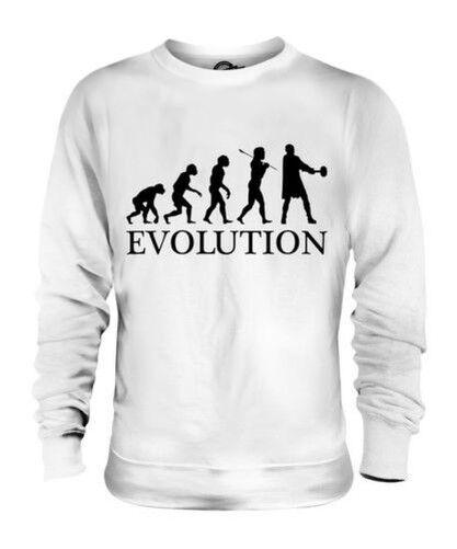 Germánico Dios Evolution Of Man Unisex Suéter Regalo Hombre Mujer