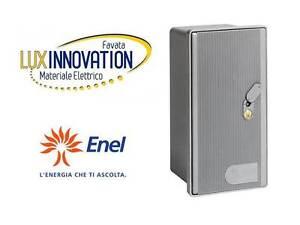 Dettagli su Cassetta nicchia Porta contatore elettrico Enel sportello  contatore enel