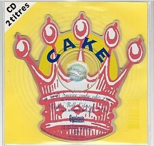 CAKE i will survive CD SINGLE france french SHAPED CD