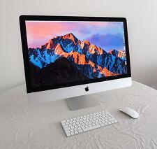 "Apple iMac 27"" 5K Late 2015 3.1ghz, 32GB 1867Ghz DDR3, 256GB SSD - Mint & Boxed!"