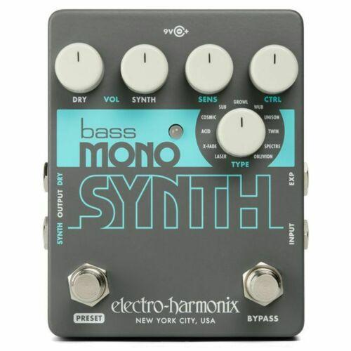Electro Harmonix Bass Mono Synth Effects Pedal