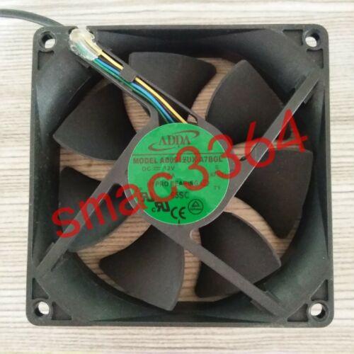 1PC Fan For ADDA 9225 DC12V 0.5A AD0912UX-A7BGL 9CM