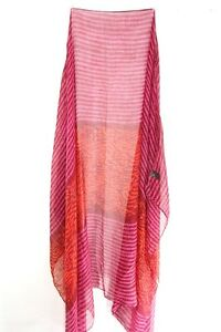 Kleidung & Accessoires Ladies Elegant Burgundy/ Pink/red Scarf Retro Abstract Scarf Unique ms37