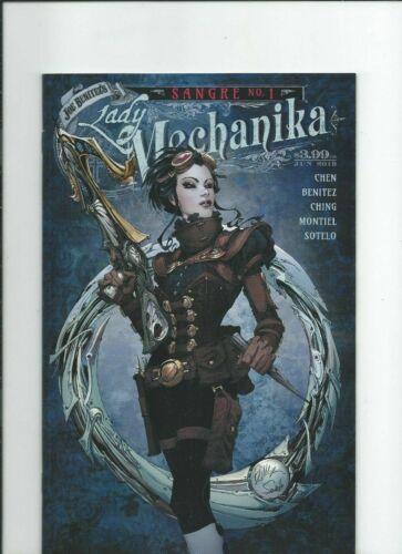 Benitez Productions Comics Lady Mechanika Sangre NM-M 2019