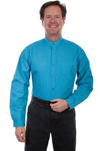 Scully-Men-039-s-Cotton-Print-Shirt-RW301