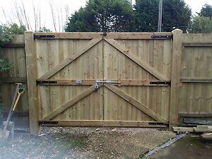 Wooden Driveway Gates Garden Gates Double Gates