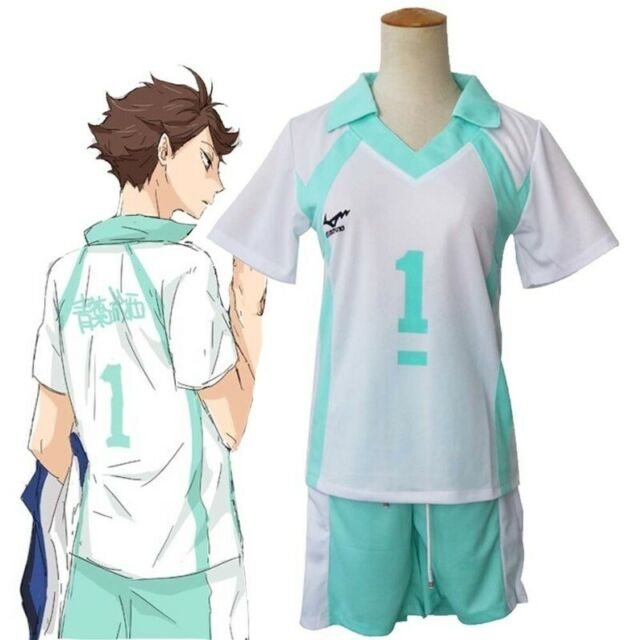 Anime Haikyuu!!Oikawa Tooru Cosplay Costume Volleyball ...