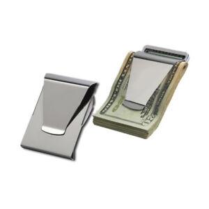 con-Portafoglio-Clip-portasoldi-uomo-metallo-portacard-ly