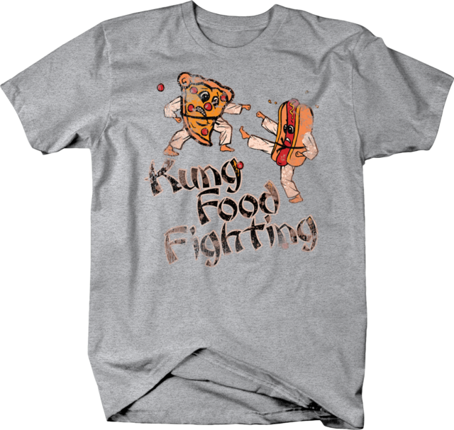 Every Bunny Was Kung Fu Fighting T-Shirt Funny Easter Rabbit Karate 70 Funk Meme