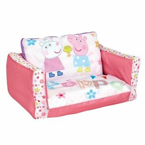 PEPPA PIG FLIP OUT SOFA - KIDS BEDROOM NEW 5013138650820 ...