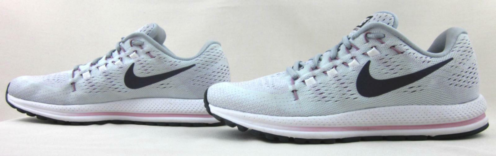 Nike Zoom Vomero 12 Running shoes shoes shoes Light Grey   Pink US 10 Amazing Condition  2752c1
