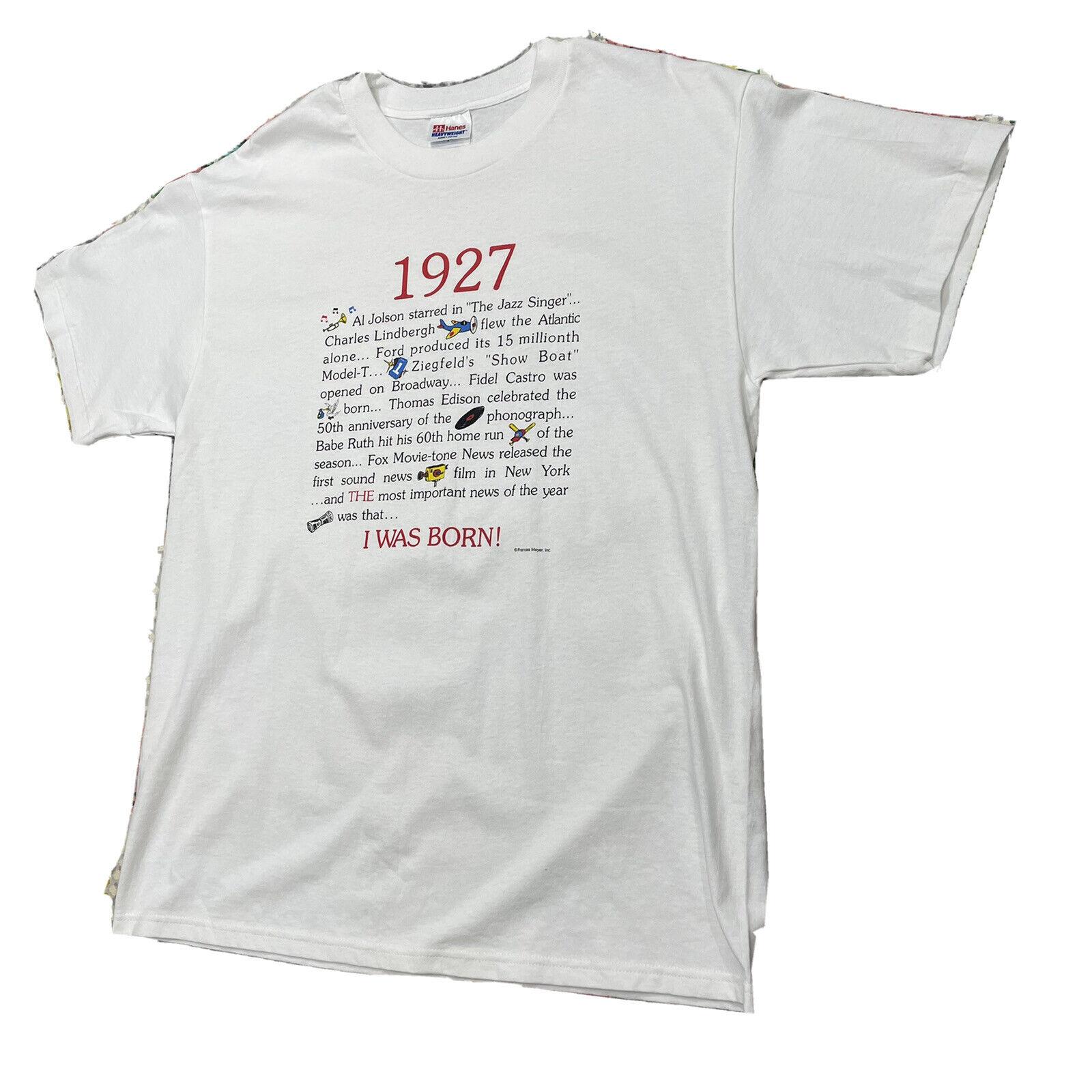 Vintage 90s 1927 Year I Was Born History Single S… - image 5