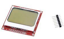 Ecran retroéclairé BLANC 5110 84x48 LCD Nokia screen white édcran - ARDUINO DIY