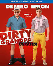 Dirty Grandpa (Unrated) [Blu-ray + DVD + Digital HD],