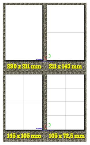 Universal Etiketten DIN A4 selbstklebend weiss freie-auswahl