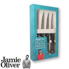 Jamie Oliver - 4 steak knives with black handle