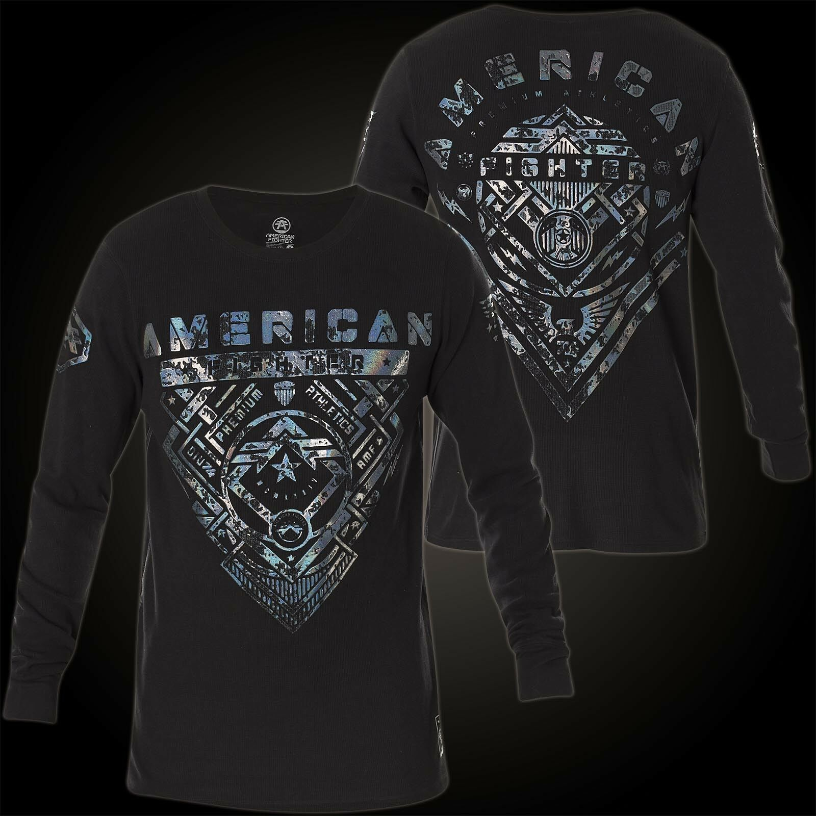 American Fighter by Affliction Thermal Idlewild Black