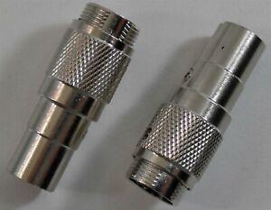 MICROPHONE ADAPTER 4 PIN COBRA MIC TO 5 PIN DIN REALISTIC CB RADIO NEW