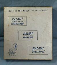 Vintage Kalart Master Automatic Speed Flash Set Code MASU for cameras in Org Box