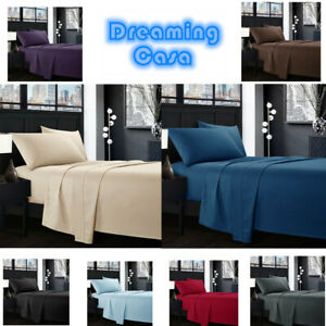 Egyptian-Comfort-1800-Count-4-Piece-Deep-Pocket-Hotel-Luxury-Bed-Sheet-Set-G5