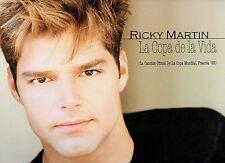 """RICKY MARTIN  disco MIX 12"""" 45 giri LA COPA DE LA VIDA made in HOLLAND 1998"""