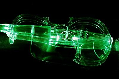NEW Transparent Violin Led Electronic Violin Electro-acoustic Violin 4//4