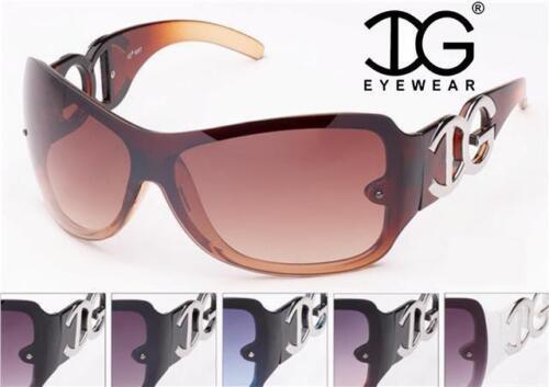 Designerwrap Big Surdimensionné Lunettes De Soleil Rétro Grande visière UV400 Femme IG ®