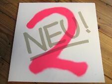 "NEU ! ""2"" - LP - FOC - WHITE VINYL - KLAUS DINGER MICHAEL ROTHER - KRAUTROCK"