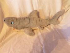 "Great White Shark w/o seam tag 20"" Plush Soft Toy Stuffed Animal"