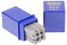 Schlagstempel Schlagzahlen 2 mm DIN 1451 Einschlagzahlen Punze Punziereisen BGS