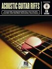 Acoustic Guitar Riffs by Hal Leonard Publishing Corporation (Mixed media product, 1999)