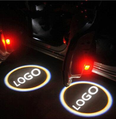 2 X New Laser Logo LED Projector Door Shadow Courtesy Light 5th for Multi-logo