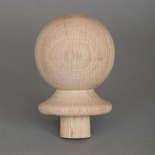 Full Ball Newel Cap Stair Parts Oak Ball Newel Cap Half Ball Newel Cap