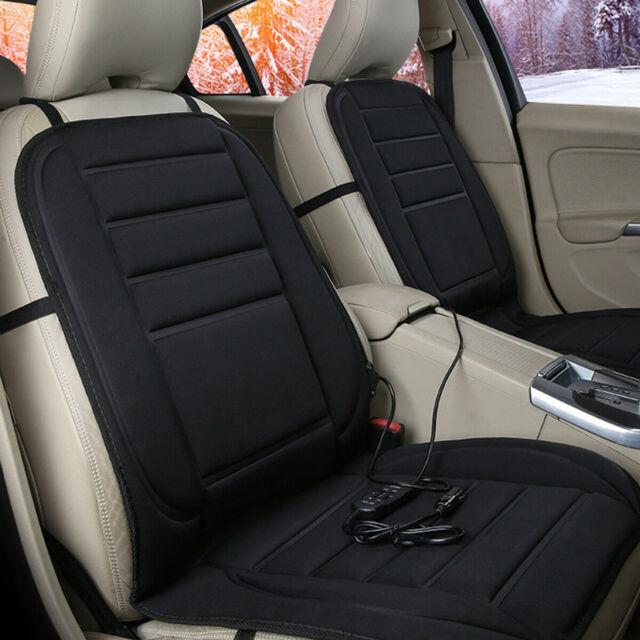 Adjustable Temperature Car Auto Van Front Seat Heated Cushion Heating Mat Safety